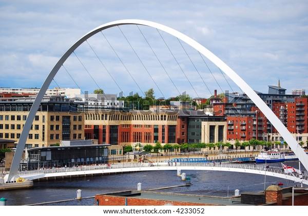 Newcastle  Millennium Bridge