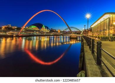 Newcastle Quayside, England