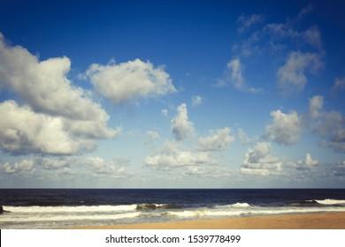 Newcomb Hollow Beach in Wellfleet MA on Cape Code MA.