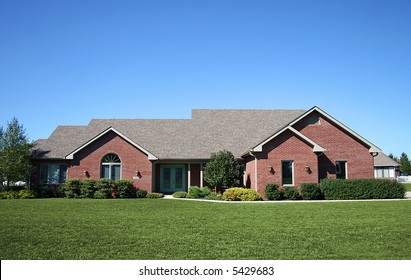 Newer brick ranch in nice suburb.