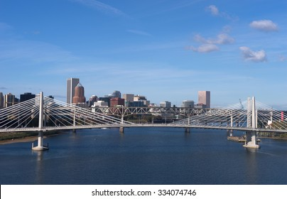 The newest bridge across Portland's famous riverfront