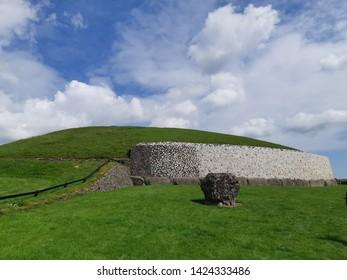 Newgrange in County Meath, Ireland