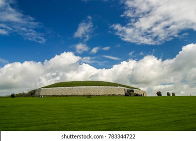 Newgrange passage tomb in Ireland