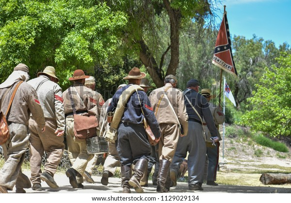 Newhall Ca 4212018 American Civil War Stock Photo (Edit Now