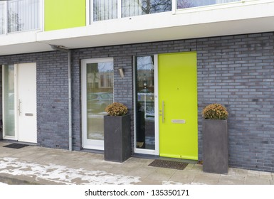 newly build residential houses in zwolle, netherlands
