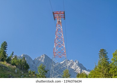 With the newly built cable car to the Zugspitze, the highest point in Germany