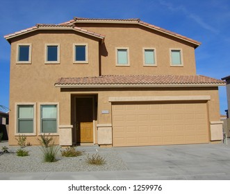 Newly constructed home