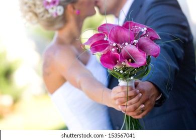 Newly married couple - wedding details