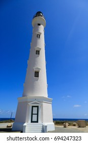 Newly refinished lighthouse in Aruba