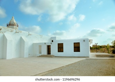 Newly renovated 150 years old mosque in Coral Old Swakin City, Swakin, Sudan.