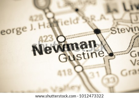 Newman California Map.Newman California Usa On Map Stock Photo Edit Now 1012473322