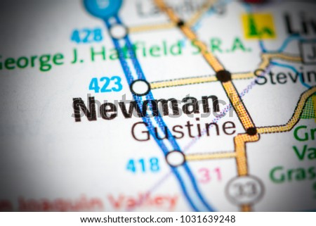 Newman California Map.Newman California Usa On Map Stock Photo Edit Now 1031639248