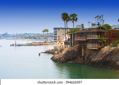 Newport Bay Balboa Island California  USA
