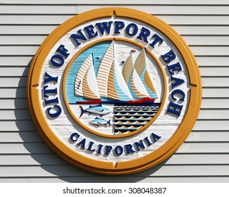 NEWPORT BEACH, CA-AUGUST, 2015:  Newport Beach surrounds Newport Bay where more than 9,000 boats of all types are docked within the 21-square-mile harbor area.
