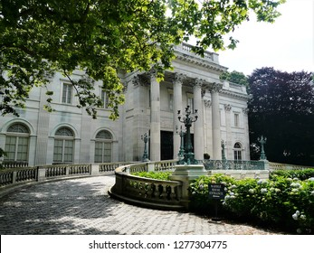 Newport, Rhode Island / USA - June 2010: Newport Mansion, The Marble House, in Newport