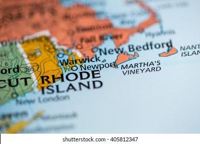 Rhode Island Map Images, Stock Photos & Vectors | Shutterstock
