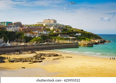 Newquay is a town on the north coast of Cornwall, in southwest England.