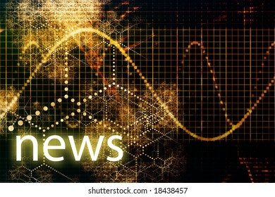 News Abstract Business Concept Wallpaper Presentation Background