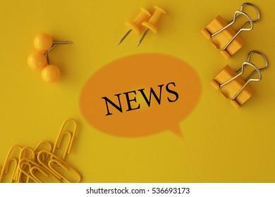 News, Business Concept