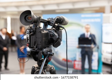 News conference or press briefing
