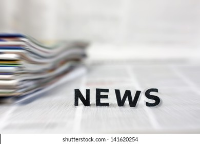 News letters on newspapers