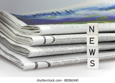 news newspaper business abstract information