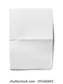 Newspaper, Blank, Paper.