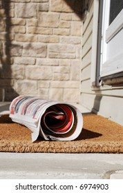 The newspaper delivery