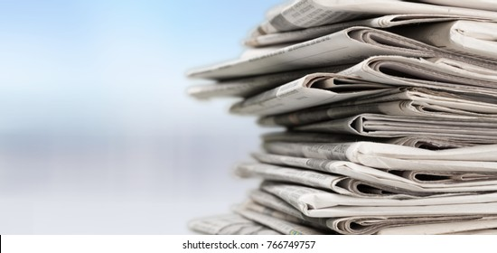 Newspaper, journalist, backgrounds.