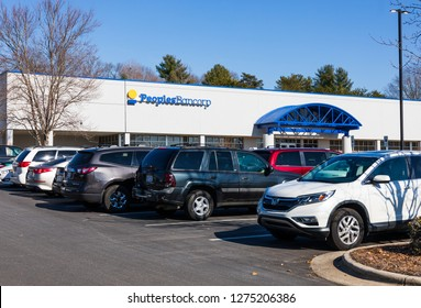 NEWTON, NC, USA-12/26/18: Peoples Bancorp is a financial holding company,  operating through its subsidiary, Peoples Bank.