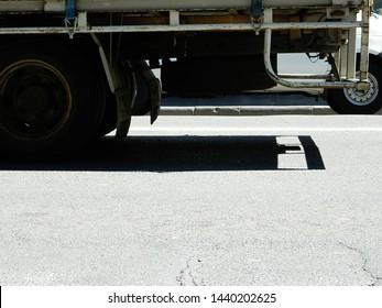 Newtown, Sydney, Australia - road side truck
