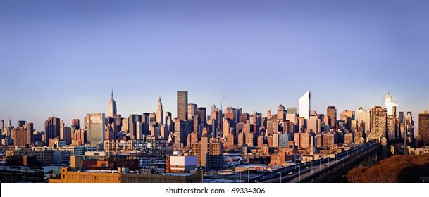 New-York city panorama taken from Queens