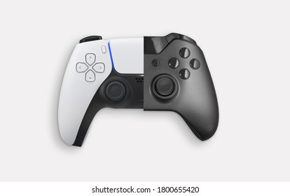 Next Gen game controller and actual game controller comparation