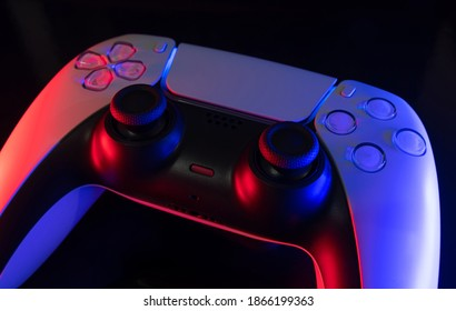 Next gen game controller isolated