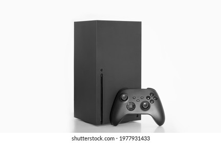 Next Generation console and controller isolated