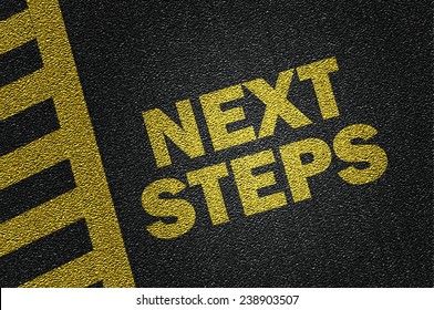 next steps on the road