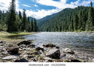 Nez Perce-Clearwater Nation Forest Lochsa River