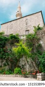 Nezir Agina Mosque in Mostar, Bosnia and Herzegovina - Nezir-aga mosque, Old town of Mostar, Bosnia and Herzegovina.