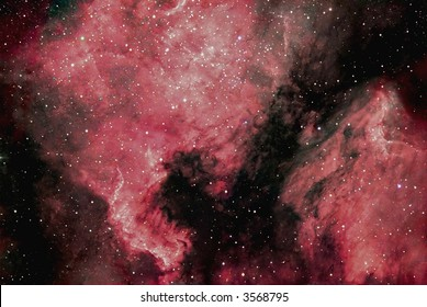 NGC 7000 North America nebula / IC 5070 Pelican nebula in Cygnus
