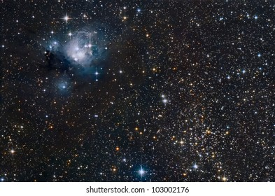 NGC 7129 - NGC 7142 - IC 5134