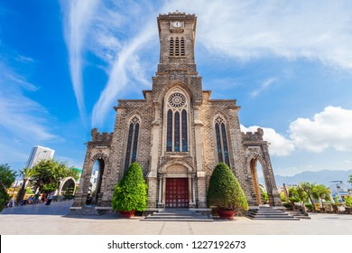 Nha Trang Cathedral or the Christ the King Cathedral is the mother church of the Catholic Diocese of Nha Trang in Vietnam