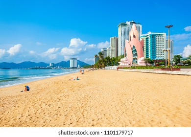 Nha Trang city beach is a public beach located in the centre of Nha Trang in Vietnam