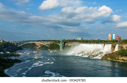Niagara Canadian  and American side