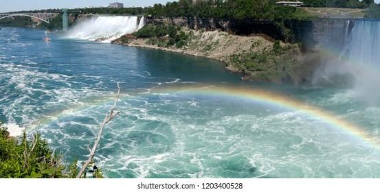 Niagara Falls - American Falls with rainbow