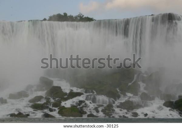 Niagara Falls - the American side.