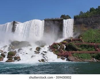 Niagara Falls from below