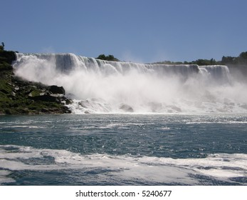 Niagara Falls at the border of USA & Canada