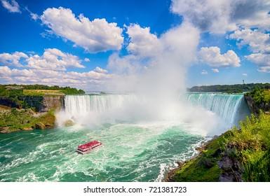 Niagara falls in Canada