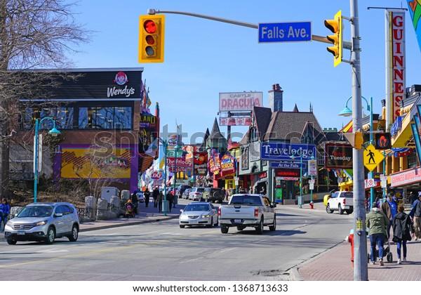 Niagara Falls Canada 27 Mar 2019 Stock Photo Edit Now
