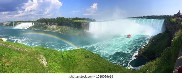 Niagara Falls Canada during summer season in 2017